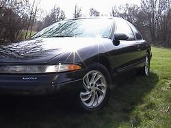 BlackLSC 1995 Lincoln Mark VIII