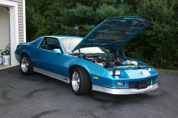 Mauiblue88 1988 Chevrolet Camaro Specs Photos