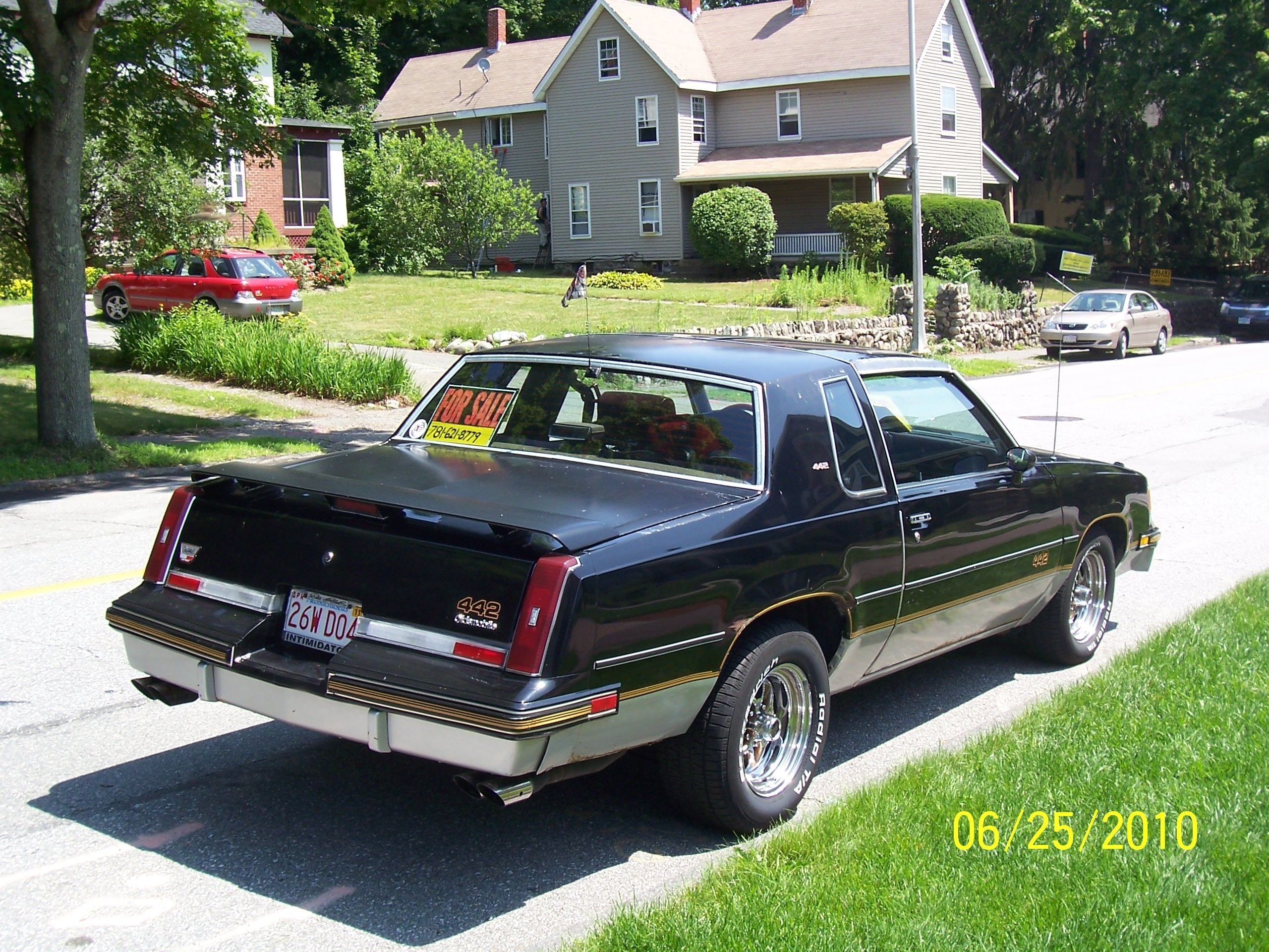 Another 1987HurstOlds442 1987 Oldsmobile 442 post... - 18465430