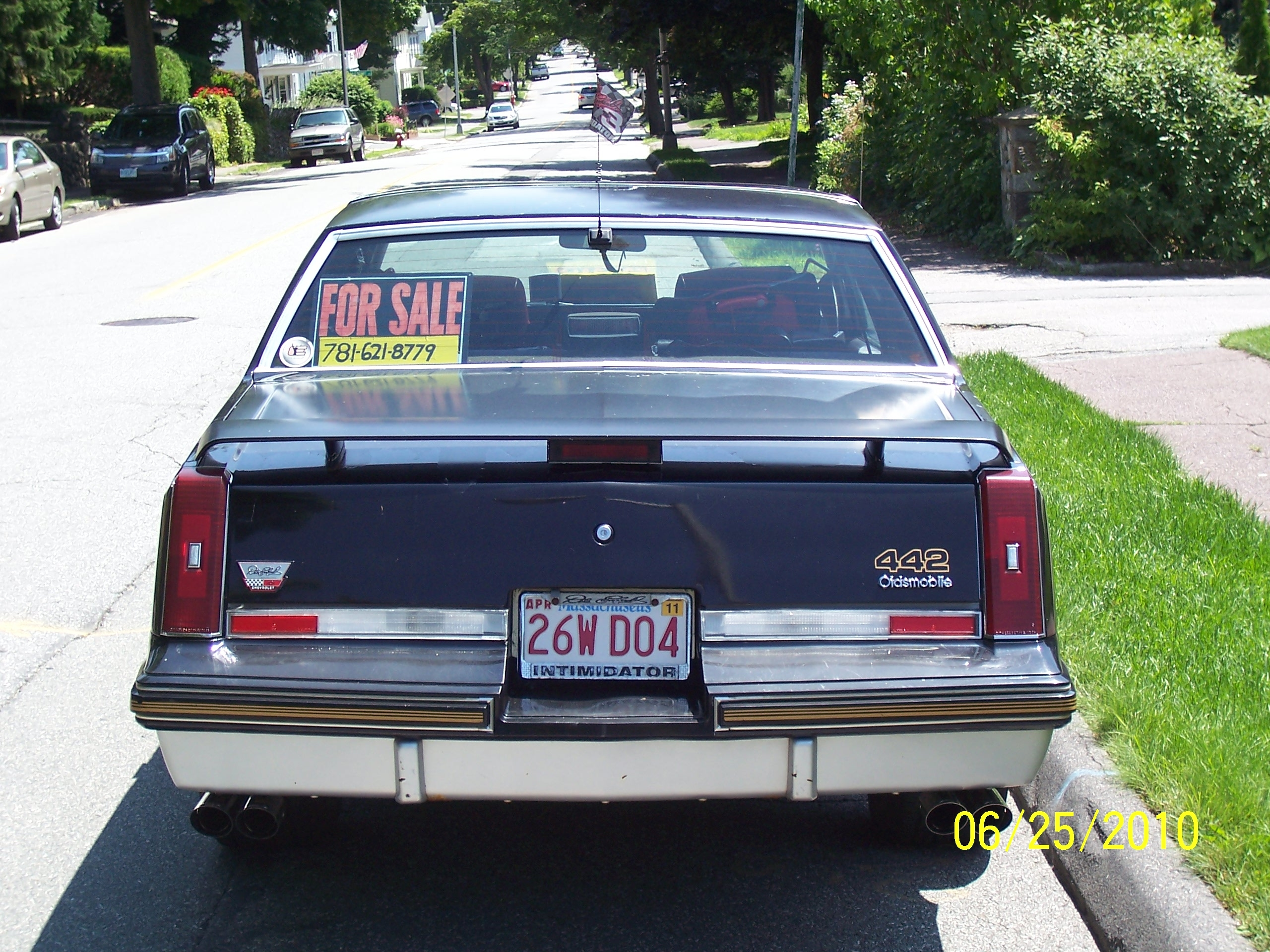 Another 1987HurstOlds442 1987 Oldsmobile 442 post... - 18465450