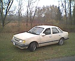 534869 1987 Ford Tempo Specs Photos Modification Info At