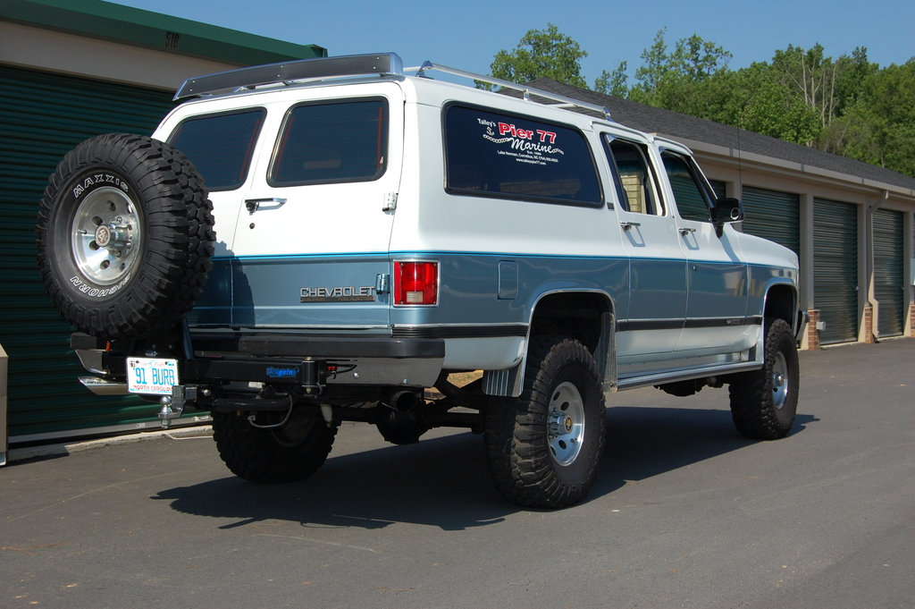 how will my square body look with xx lift and xx tires   gm