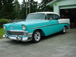 dav56 1956 Chevrolet Bel Air