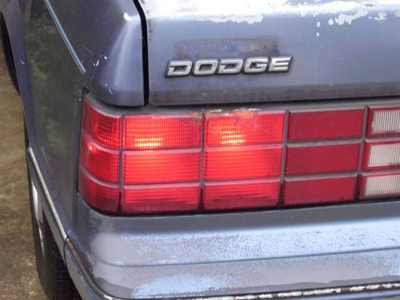 dness 1987 Dodge Lancer 3109557