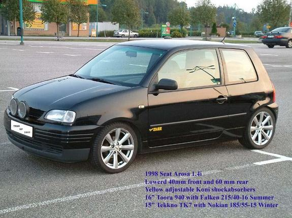 arosa 1998 seat ibiza specs photos modification info at cardomain. Black Bedroom Furniture Sets. Home Design Ideas