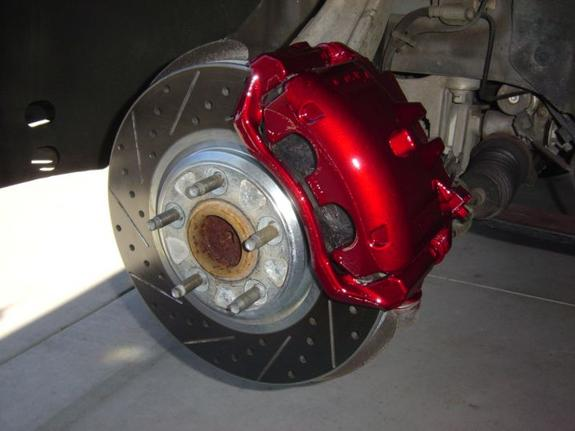 Anodized Red Caliper Paint
