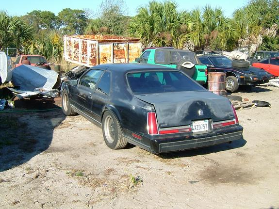 Another BLK90LSCSE 1988 Lincoln Mark VII post... - 3184139