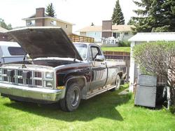 small_fry_trucks 1981 GMC Sierra 1500 Regular Cab