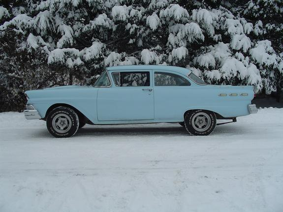 Another loyal 1958 Ford Custom post... - 3208740