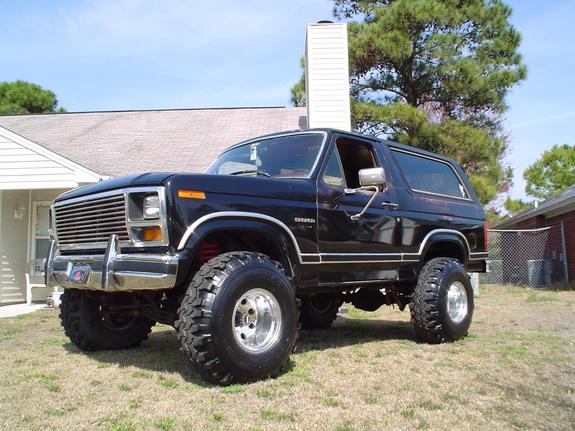 Chad287 1986 Ford Bronco Specs Photos Modification Info