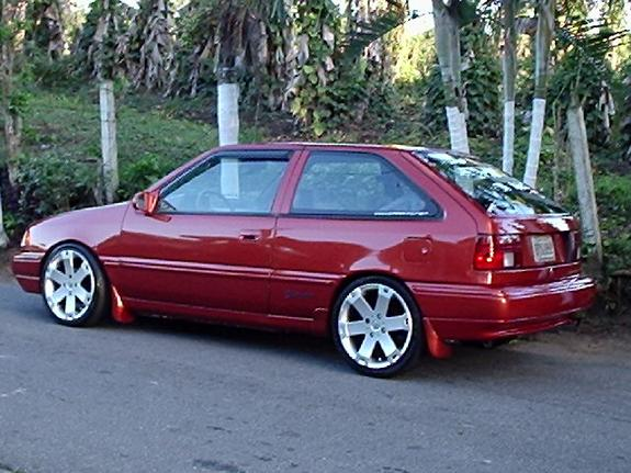 Rauly 1994 Hyundai Excel Specs  Photos  Modification Info