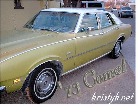 ford comet 1973