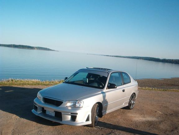 Another peachpeters 2002 Hyundai Accent post... - 3271095