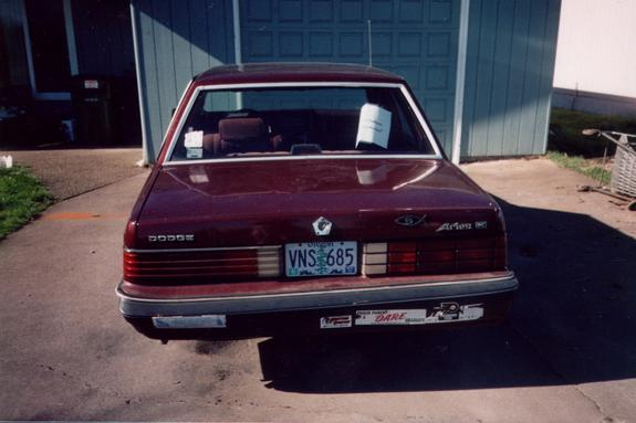 Another mystang420 1986 Dodge Aries post... - 3282053