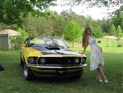stangchicaash 1969 Ford Mustang