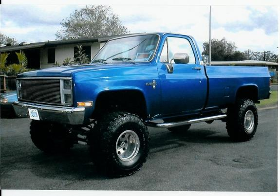 Bluehawaii 1985 Chevrolet C K Pick Up Specs Photos
