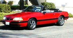 evintho 1989 Ford Mustang
