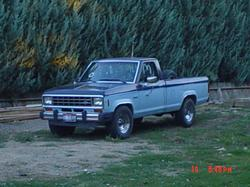 79cvccs 1984 Ford Ranger Regular Cab