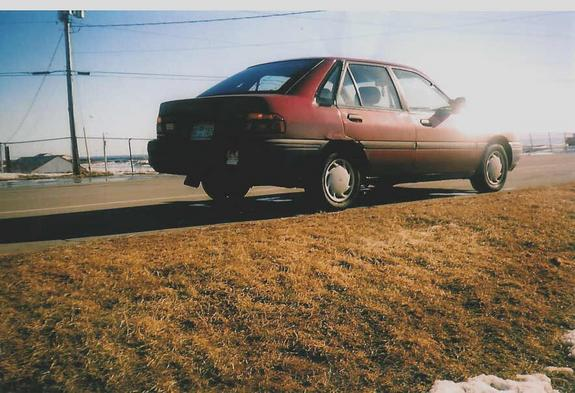 Another ofmyownaccord 1991 Ford Escort post... - 3386970