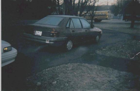 Another ofmyownaccord 1991 Ford Escort post... - 3386973