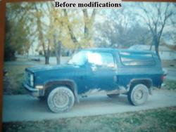 bill1986k5 1986 Chevrolet Blazer
