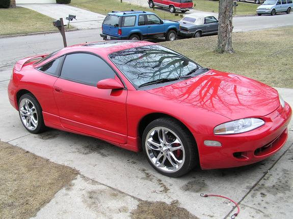 firefly386 39 s 1996 mitsubishi eclipse in rockford il. Black Bedroom Furniture Sets. Home Design Ideas