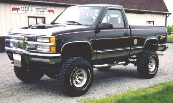 Another chevynofear 1995 Chevrolet C/K Pick-Up post... - 3407256