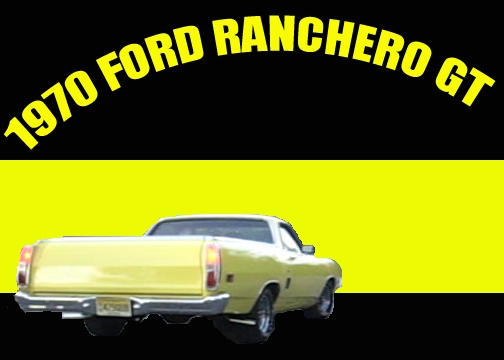 FORDdriver03's 1970 Ford Ranchero