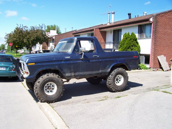 Another monnoncle 1979 Ford Bronco post... - 3422360