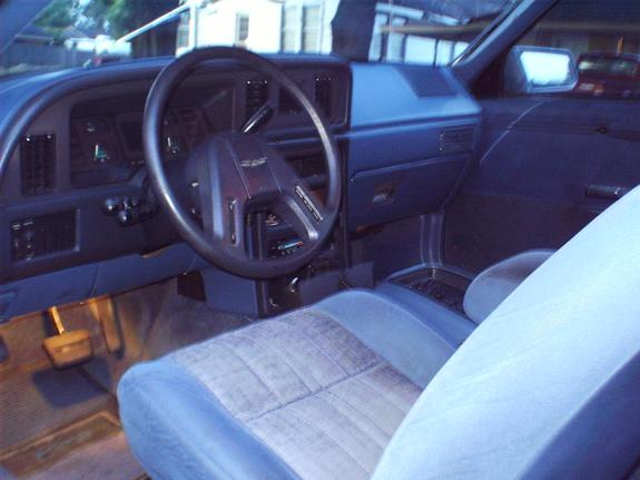 1986 Ford Thunderbird Interior 1986 Ford Thunderbird