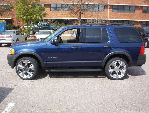 pimped out 2004 ford explorer. Black Bedroom Furniture Sets. Home Design Ideas
