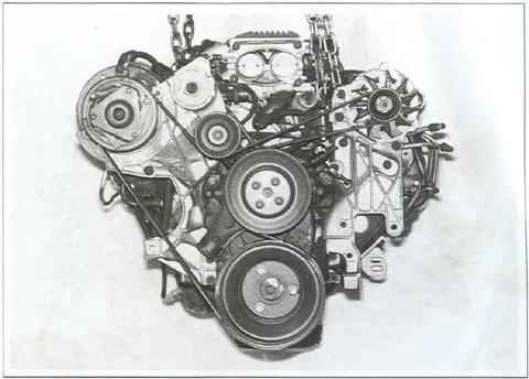 1986 chevy 350 belt diagram