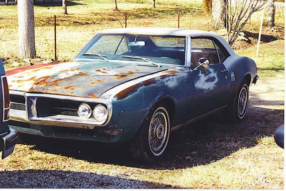 Another 1968blackbird 1968 Pontiac Firebird post... - 3520479