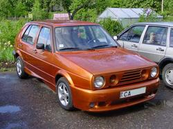 HaLjavshchiks 1986 Volkswagen Golf