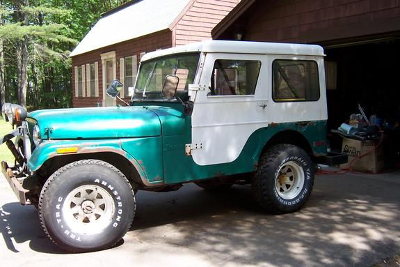 90Amigo 1972 Jeep CJ5