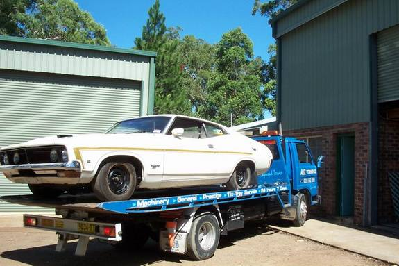 Polarwhite73XB 1973 Ford Falcon 3540379