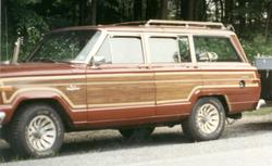 junksters 1986 Jeep Grand Wagoneer