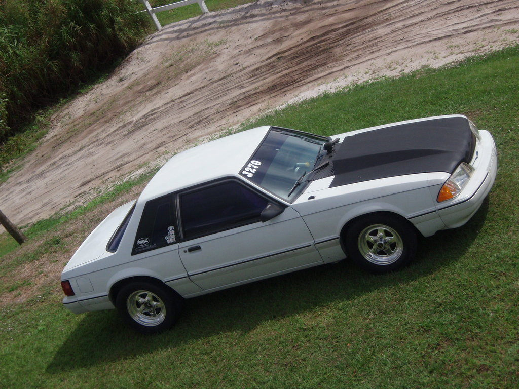 90NotchBack 1990 Ford Mustang