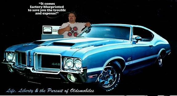 oleblue442's 1975 Oldsmobile Cutlass Supreme