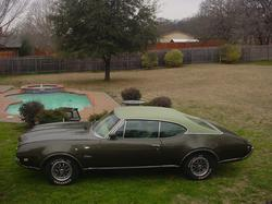 Fugozs 1968 Oldsmobile Cutlass Supreme