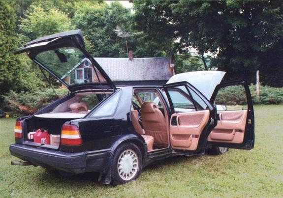 Another redskunk 1986 Saab 9000 post... - 3615487