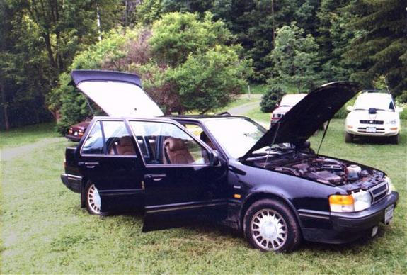 Another redskunk 1986 Saab 9000 post... - 3615492