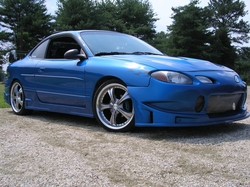mightyblue 2001 Ford ZX2