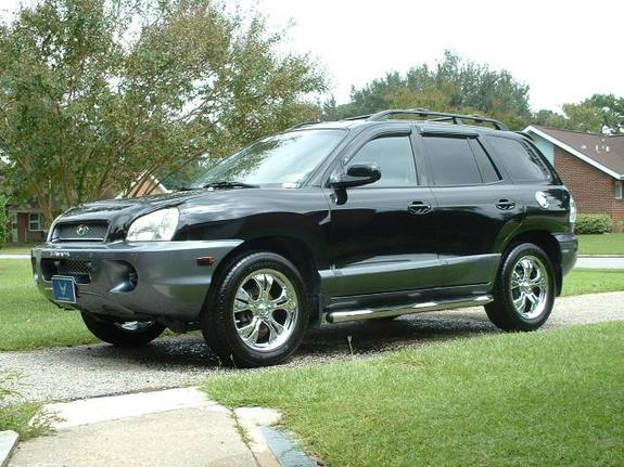 Robssuv 2003 Hyundai Santa Fe Specs Photos Modification