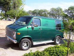 gallo_negro 1976 Chevrolet Van