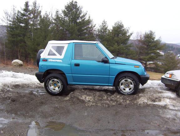 Tracker Boy07 1997 Geo Tracker Specs  Photos  Modification
