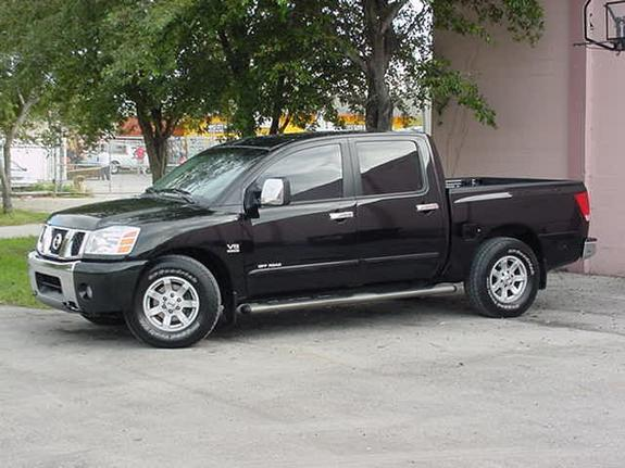 chiano88 2004 nissan titan crew cab specs photos modification info at cardomain. Black Bedroom Furniture Sets. Home Design Ideas