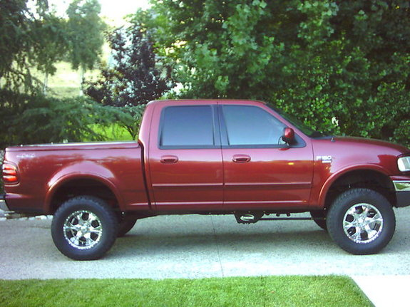 2001 ford f150 supercrew 4x4 tire size