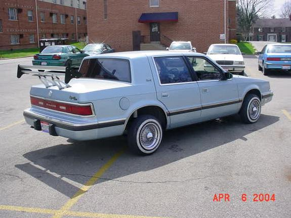 bluedodge04 1989 Dodge Dynasty Specs, Photos, Modification Info at