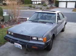 theSEKSIEmoskers 1983 Nissan Maxima